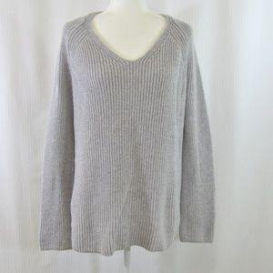 Lou & Grey cotton/wool blend knit sweater